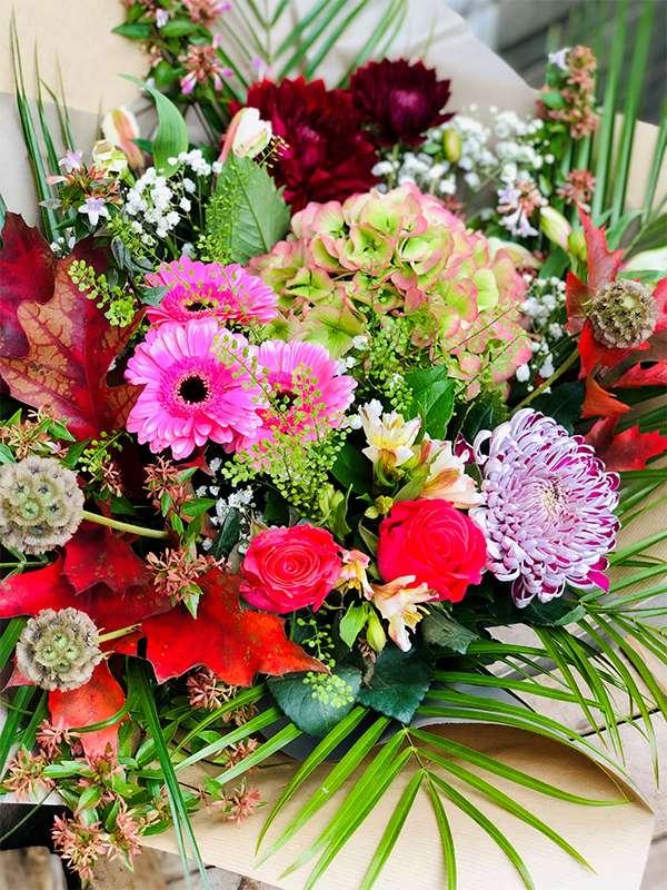 Bouquet Surprise Champêtre - Les Bouquetiers - Fleuriste