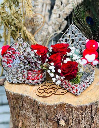 Boîte à bijoux EXQUISITE Fleuri