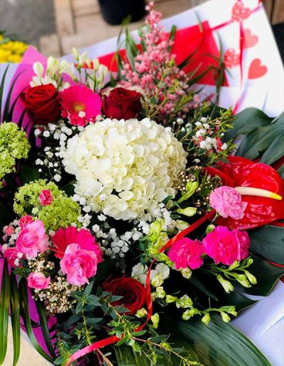 bouquet surprise Saint-Valentin 2021