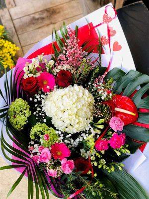 bouquet surprise Saint-Valentin 2021